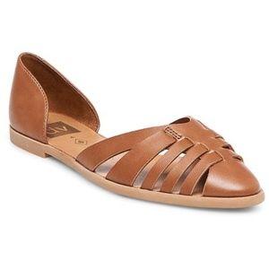 NeWomen's dv Raven Woven Pointed Toe Flats Size 11